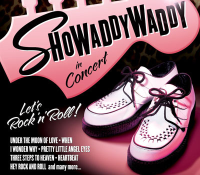 Saturday 6th November 2021, 7:30pmRescheduled from Sunday 6th Sep 2020All Tickets £24.75'The Greatest Rock & Roll Band In The World' is a bold statement but Showaddywaddy has lived up to that title for the last 4 decades!Formed in the 1970s in Leicester from several local bands, they have sold more than 20 million records and have toured all corners of the World extensively. Their live show is dynamic and uplifting featuring all of their biggest hits, many of which reached number one in the pop charts of Europe. 'Under The Moon of Love', 'Three Steps to Heaven', 'Hey Rock & Roll', 'When', 'Blue Moon', 'Pretty Little Angel Eyes' and many, many more.So come and join the 'Dancin' Party'… 'You've Got What It Takes'! All prices advertised include a booking fee. No fees to Friends of the Floral.A postage fee may apply.