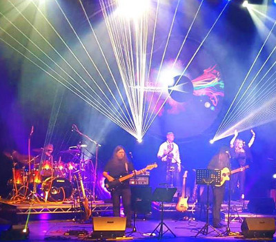 Saturday 20th March 2021, 8:00pmRescheduled from Sat 23rd Jan 2021Tickets £20.00 (£18.00 conc)Back for another year! Including a complete performance of Pink Floyd's epoch-making album, The Dark Side of the Moon, plus music from The Wall, Wish You Were Here and The Division Bell, the show includes spectacular multi-media and laser effects to provide the perfect backdrop for this wonderful music. You won't hear this music played better anywhere in the UK. Not to be missed for any Floyd fan.All prices advertised include a booking fee. No fees to Friends of the Floral. A postage fee may apply.