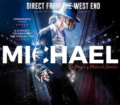 Saturday 26th March 2022, 7:30pmRescheduled from Fri 12th Mar 2021Tickets £26.00 (£24.00 conc)Take a journey back in time to remember Michael Jackson – the man, the music and the magic. MichaelⓇ Starring Ben is a hit theatre production starring the UK's ultimate Michael Jackson tribute star, Ben Bowman. Not only does he look and sounds like the King of Pop, but he's honed his routine so carefully that audiences truly believe they are watching Michael Jackson himself.The show features a live band, dazzling costumes and the performer's iconic dance routines. It also showcases the greatest hits of Michael Jackson and also of The Jackson 5 including Beat It, Billie Jean, Thriller and Man in the Mirror. Take a journey back in time to remember Michael Jackson – the man, the music and the magic. Michael Starring Ben is a hit theatre production starring the UK's ultimate Michael Jackson tribute star, Ben Bowman.Not only does he look and sound like the King of Pop, but he's honed his routine so carefully that audiences truly believe they are watching Michael Jackson himself. The show features a live band, dazzling costumes and the performer's iconic dance routines. It also showcases the greatest hits of Michael Jackson and also of The Jackson 5 including Beat It, Billie Jean, Thriller and Man in the Mirror.All prices advertised include a booking fee. No fees to Friends of the Floral. A postage fee may apply.