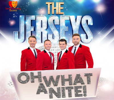 Thursday 9th September 2021, 7:30pmRescheduled from Wed 23rd September 2020Tickets £21.75Under 16s £18.75Groups of 10+ £15.00Join Oh What a Nite' as we celebrate the timeless music of the 100 million album selling Frankie Valli & The Four Seasons. Incredible falsettos, beautiful acapella's - the authenticity of the sublime harmonies of the 60s and 70s - with a huge repertoire including Sherry, Walk Like A Man, My Eyes Adored You, Grease, Rag Doll, Stay, Let's Hang On, and Big Girls Don't Cry before finishing off with headline hit Oh What A Night! This is much more than just another tribute show - this is a  celebration of fantastic music performed by an array of incredible talent.The Jerseys have performed in various prestigious venues, visiting the length and breadth of the UK. Some notable shows include a performance for Her Majesty The Queen on The Long Walk, Windsor Castle for her 90th Birthday Celebrations, and internationally including The Paris Casino in Las Vegas.With a cast between four and eight, this all-singing all-dancing show will have you dancing in the  aisles. Currently on its 4th sell out UK tour.All prices advertised include a booking fee. No fees to Friends of the Floral. A postage fee may apply.