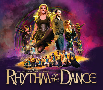 Friday 23rd July 2021, 7:30pmRescheduled from Thursday 23rd July 2020All Tickets £26.75The National Dance Company of Ireland present Rhythm of the DanceThis dance and music extravaganza contains a wealth of Irish talent, an exciting 2-hour trip through hundreds of years of Irish dance and music, 22 award-winning World & Irish dance champions with 25 dazzling costume changes.Experience flailing fiddles, flutes, and inspiring dances along with live vocalists, all complimented by a top live Irish trad band of multi-instrumentalist musicians and a sensational sound and light show as seen on TV from China to California, from Siberia to Sydney.Worldwide, toes are tapping and hands are clapping to the feet of Rhythm of the Dance! Enjoy the 21st Anniversary tour of Rhythm of the Dance, over five million fans across fifty countries already have!All prices advertised include a booking fee. No fees to Friends of the Floral. A postage fee may apply.