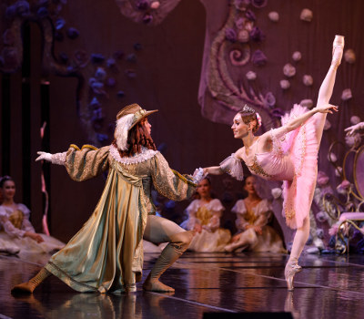 "Tuesday 2nd November 2021, 7:30pmRescheduled from Wed 11th Nov 2020Tickets £36.00 (£34.00 conc)The Russian State Ballet and Opera House presentsSleeping Beauty – a spectacular fairy-taleEvery child's favourite fairy-tale, Sleeping Beauty is the classic story of love and innocence, mystery and magic set to Tchaikovsky's sublime score.Featuring a live Orchestra with over 30 musicians, stunning choreography, sumptuous costumes and wonderful sets form the fantasy world in which the Lilac Fairy struggles against the evil Carabosse. The outline is based on the fairy-tale by Charles Perrault and tells the story of the Princess Aurora, cursed at her christening by the evil Carabosse to prick her finger one day on a spindle and die.Thanks to the timely intervention of the Lilac Fairy, she doesn't die, but sleeps for a hundred years. Woken by a prince, who has battled through the Enchanted Forest to reach her, they marry at a ceremony attended by nursery rhyme characters like Puss in Boots and all the other forest creatures.There are no scores more successful in supporting the full range of ballet than those by Tchaikovsky.Highlights include the Famous 'Rose Adagio' when Princess Aurora is introduced to four princes. This ravishing production of the Sleeping Beauty is certain to leave you refreshed, relaxed and alert. It shimmers like an exquisite dream.Sleeping Beauty is a ballet that the whole family can enjoy!""A superb performance which lived up to the mystery of the charming Russian classic"" – The ArgusAll prices advertised include a booking fee. No fees to Friends of the Floral. A postage fee may apply."