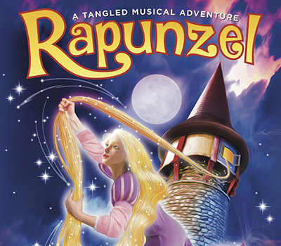 "Friday 22nd April 2022, 2:00pmRescheduled from Thu 8th April 2021Tickets £13.75 (£11.75 concessions)Family Ticket £47.00Group Discounts for 10+Running Time: 2 hours with intervalAge: 5 years+A tangled musical adventure! Let your hair down in a brand-new adaptation of the popular fairy tale 'RAPUNZEL'Scott Ritchie Productions proudly presents this exciting and fun adventure.This production promises to be a theatrical treat for audiences of all ages, featuring a witty script, original music and some songs you may already know. Get tangled up with a host of loveable characters from this magical fairy tale. With an exciting opportunity to meet the characters after the show, this is sure to be a ""hair-raising"" production that you won't want to miss! All prices advertised include a booking fee. No fees to Friends of the Floral. A postage fee may apply."