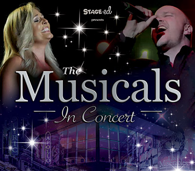 Saturday 21st August 2021, 7:30pmRescheduled from Sunday 23rd August 2020All Tickets £25.00Stage-ed presents The Musicals in ConcertFor one magical night only, stars from London's West End take to the stage in a GLORIOUS GALA PERFORMANCE of songs from some of the world's favourite musicals.With West End performers who have starred in Les Misérables, Mamma Mia, Blood Brothers, Miss Saigon, Wicked, We Will Rock You, Evita and many more, this promises to be a fun and memorable evening.All prices advertised include a booking fee. No fees to Friends of the Floral. A postage fee may apply.