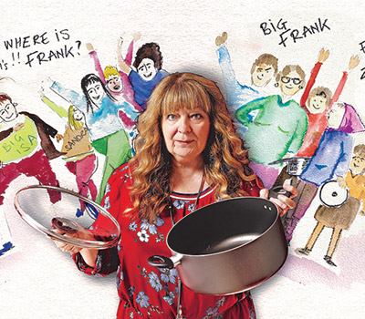 "Sunday 18 April 2021, 7:30pmRescheduled from Friday 6th Nov 2020All Tickets £17.75Janey Godley and her soup pot are on tour. ""Frank Open the door"" get ready!So, tell all the Sandra's, Big Frank and all the lassies fresh from Zumba to grab the soup pot and get ready for the ""Queen of Scottish Comedy"" coming to a town near you!Live voice over's and stand up like you've never seen before. Check out some hilarious patter from Big Tereeza in Torremolinos, Boris and his bawjaws and see Nicola up on the big screen with all the latest patter. Hot from her recent appearance's on BBC's 'Have I Got News for You' and BBC Scotland's 'Breaking the News', Fringe Festival sell out and with over 20 years of performing award winning comedy around the world from Newcastle to New Zealand. Janey is excited to bring you her hilarious new show for 2020.With over 40 million hits online and regular sold out shows at Edinburgh and Glasgow Comedy Festivals, book early to avoid disappointment.www.janeygodley.comTwitter @janeygodley Facebook @JaneyGodley ""A stand-up so personal in approach I wouldn't be surprised if she breast-fed the front row"" Time Out★★★★★ ""The type of act you want to catch again and again, year after year"" One4Review""The Glasgow comedy queen"" The List""The most outspoken female stand-up in Britain... The most ribald and refreshing comedy talent to have risen from the slums of Glasgow since Billy Connolly...""  Daily TelegraphAll prices advertised include a booking fee. No fees to Friends of the Floral. A postage fee may apply."