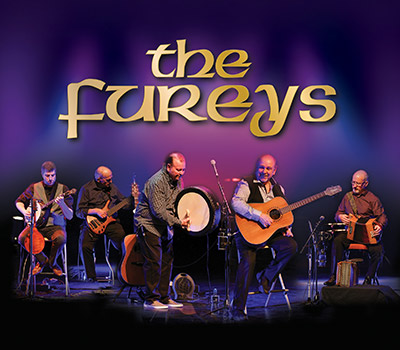 Saturday 14th May 2022, 7:30pmRescheduled from Fri 5th March 2021All Tickets £25.00Legends of Irish music & song The FUREYS, renowned for their hit songs 'I Will Love You', 'When You Were Sweet 16', 'The Green Fields of France', 'The Old Man', 'Red Rose Café', 'From Clare to Here', 'Her Father Didn't Like Me Anyway', 'Leaving Nancy', 'Steal Away' etc return for their 9th concert on Friday 5th March.The FUREYS have been entertaining audiences worldwide for 43 years, audiences that have included former Australian Prime Minister John Howard, Former Irish President Mary McAleese and the late Pope John Paul while Tony Blair has publicly stated his favourite peace song of all time is the FUREYS 'Green Fields of France' and President Michael D Higgins attended their last concert in National Concert Hall. The oldest of the brothers, Eddie Furey left home in 1966 and travelled to Scotland at the time of the great folk revival where he shared accommodation with then unknown folk singers Billy Connolly, Gerry Rafferty and Alex Campbell. In 1969 with his brother Finbar, he was the special guest for the Clancy Brothers and Tommy Makem throughout the USA and Canada. In 1971 he moved to mainland Europe where he toured for seven years. Dave Stewart from the Eurythmics has credited Eddie with teaching him his first chords on guitar when they met up in the North East of England while Dave was still a teenager.All prices advertised include a booking fee. No fees to Friends of the Floral. A postage fee may apply.