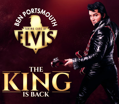 "Thursday 2nd September 2021, 7:30pmTickets £31.25 (£28.75 conc)Taking Care of Elvis – The King Is BackBen Portsmouth -The World's Number One Elvis Tribute Artist. Ben, a multi talented musician, singer and songwriter had Elvis's DNA in his blood from an early age. His father was an avid Elvis fan and Ben grew up on a diet of Elvis songs. He looks like Elvis, sings like Elvis and has an on-stage charisma that has audiences believing at times they are watching the King himself. In August 2012, Ben made history when he won the Elvis Presley Enterprises ""Ultimate Elvis Tribute Artist Contest which took place in Memphis, crowning Ben as the ""Worldwide Ultimate Elvis Tribute Artist"", the first artist from outside the USA to ever win this prestigious title.Internationally renowned as one, if not The Best Elvis Tribute in the world today, Ben Portsmouth will bring his unique style and charisma and will show audiences why he is regarded as the best in the business.All prices advertised include a booking fee. No fees to Friends of the Floral. A postage fee may apply."
