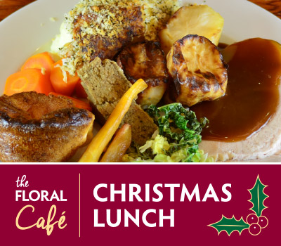 A Choice of Festive Turkey, Roast Gammon or Wild Mushroom Nut Roast for £13.95 eachChild option for £9.95 eachThe 'Festive Season' is here and in December we are welcoming cold and cosy Sundays with a new Festive Sunday Lunch on our Panormaic Lounge! Served from 12pm-3pm - booking advised. Deserts and wines are available ask your server
