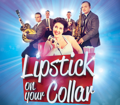 Saturday 10th July 2021, 7:30pmTickets £26.75 (conc £24.75)Groups of 10+ £18.00Lipstick On Your Collar is back with its brand new showStep back in time to the golden era of music where the jukebox roared and feet didn't touch the floor. Get your dancing shoes at the ready, grab yourself a milkshake and relax - you are in for an evening of back to back hits from the 1950s and 60s!From the birth of Rock n Roll through to the Beat Group sounds of the British Invasion and beyond, the show is packed with over forty hits from the likes of Connie Francis, Brenda Lee, Buddy Holly, Chuck Berry, The Beatles, The Ronettes, Cliff Richard, Cilla Black and many more.Performed by a full live band, featuring some of the country's top musicians, this incredible show features excellent vocals, tight harmonies and an infectious sense of fun.Dancing in the aisles is strictly compulsory so bring your dancing shoes and let the good times roll!All prices advertised include a booking fee. No fees to Friends of the Floral. A postage fee may apply.