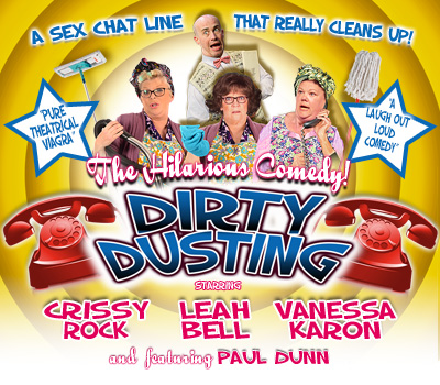 "Sunday 26th September 2021, 7:30pmRescheduled from Wednesday 28th October 2020All Tickets £23.75THIS IS AN EVENING OF PURE THEATRICAL VIAGRAOur 2021 production stars Vicki Michelle ('Allo 'Allo!) and Vicky Entwistle (Coronation Street), Leah Bell completes the threesome.Gladys, Olive and Elsie are three ""vintage style"" cleaning ladies who, threatened with redundancy, chance on an 'unconventional' way of earning some extra cash.A wrong number requiring a Sex Chat Line rings into the office and gives them a great idea… ""Why not start their own Sex Chat Line?"" After all, their age and appearance won't matter on the telephone and providing they can keep this a secret from Dave, their boss... they could be onto a winner!What could possibly go wrong?Written by Ed Waugh and Trevor Wood, this production is directed by Leah Bell who injects this hilarious play with a fresh and lively approach coupled with her own unique comedic style.All prices advertised include a booking fee. No fees to Friends of the Floral. A postage fee may apply."