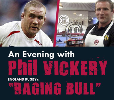 An Evening with Phil Vickery