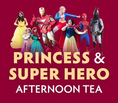 Princess and Superhero Afternoon Tea